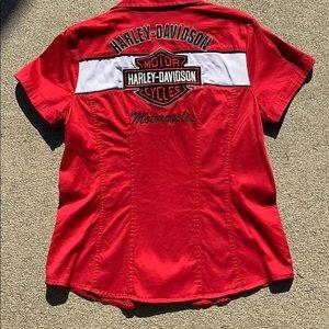 Harley-Davidson Tops - Harley Davidson Shop Shirt